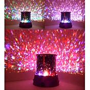 Star Beauty Starry Sky Projector Night Light (3xAA, Random Color)