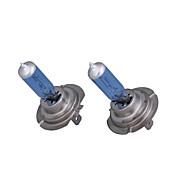 H7 Halogen Headlight Bulbs (Blue, 12V, 55W, 1 Pair)