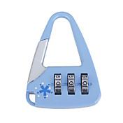 Cute Bag-Sharped Combination Padlock (Blue)