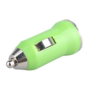 700mA Car Cigarette Powered USB Adapter/Charger (DC 12V/24V)-Green