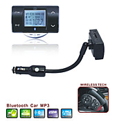 Car MP3 Player Bluetooth Handsfree - FM Transmitter with Steering Wheel Remote Control - Support SD Card - USB flash - FM8100