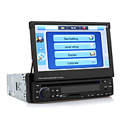 7 Inch 1Din Car DVD Player with GPS IPOD Bluetooth TV RDS