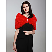 Faux Fur Special Occasion Wrap / Shawl