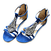 Fabric Upper Wedge Heel Bohemian Sandals Party Shoes (More Colors)