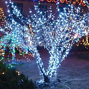 10M 6W 100-LED White Light String Fairy Lamp for Christmas Halloween Festival Decoration (110/220V)