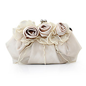 Gorgeous Satin/ Tulle Shell Evening Handbags/ Clutches More Colors Available