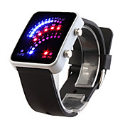 Silicone Band 29 LED Wrist Watch
