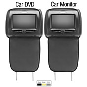7 Inch Car DVD Player and Monitor with Game USB/SD  (1 Pair)