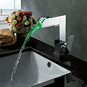 Color Changing LED Bathroom Sink Faucet - Blade Series