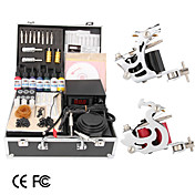 Limited Offer 2 Gun Tattoo Kit with LCD Power