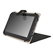 Leather Protective Case with Adjustable Stand for 10 Inch Tablet PC - Black