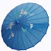 Royalblue Silk Parasol