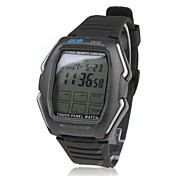 Touch Screen TV/DVD/VCR Remote Controlled Wrist Watch (Black)