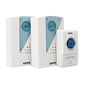 Wireless Digital Doorbell with 38 Tune Melodies (Remote Control)