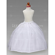 Flower Girl Taffeta Ball Gown 3 Tier Floor-length Slip Style/ Wedding Petticoats
