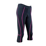 Santic - Womens Coolmax Material Cycling 3/4 Shorts Pink Trace
