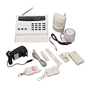 Intelligent Wireless Alarm Home Security System Auto Dialer 8 Zone
