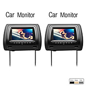 7 Inch Digital Screen Car Headrest Monitor, 1 Pair