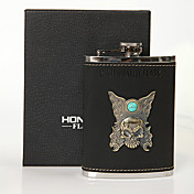 Skull High Quality 8-oz Flask