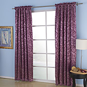 Aspire Embossed Blackout Thermal Curtains (Two Panels)