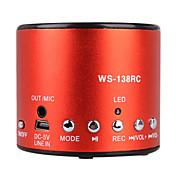 Hot Recording Mini Speaker with Usb Input (FM Radio, Portable Speaker)