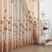 Olga Classic Window Curtains (Two Panels)