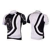 Kooplus-Mens Short Sleeve Clcying Jersey with 100% Polyester (Panther)