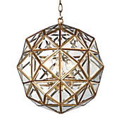 Golden 4 - Light Pendant Light