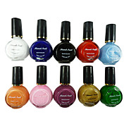 10 Colors  Pure Colors UV Builder Gel Nail Art 10ML