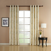 (One Panel) Country Grape Garden Print Energy Saving Curtain