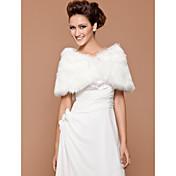 Faux Fur Wedding / Special Occasion Shawl