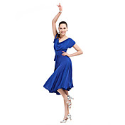 Ballroom Dancewear Viscose Modern Dance Dresse For Ladies More Colors