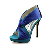 Satin Stiletto Heel Sandals Party / Evening Shoes