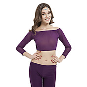 Dancewear Spandex Belly Top for Ladies More Colors