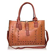 Simple Style PU Women's Tote&Cross Body Bag