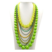 Fashion Acrylic Alloy Necklace (More Colors)
