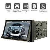 7-inch 2 Din TFT Screen In-Dash Car DVD Player With Bluetooth,RDS,iPod-Input,TV