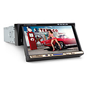 7-inch 1 Din TFT Screen In-Dash Car DVD Player With Bluetooth,iPod-Input,RDS,TV