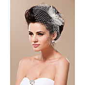 Modern Wedding Bridal Headpiece