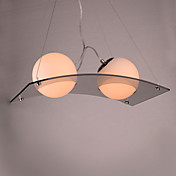 Modern Pendant Light with 2 Lights