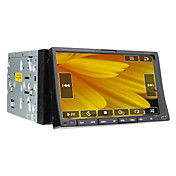 7 Inch 2Din Car DVD Player (GPS, TV, Bluetooth, RDS, 800x480)