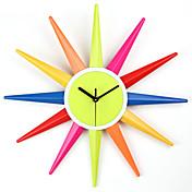 Creative Designed Wall Clock in Colorful Fashion Design