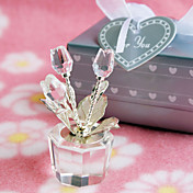 Crystal Rose Pot Favor
