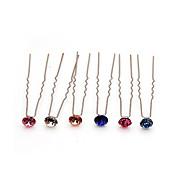 Chic Alloy With Rhinestone Women's Hairpins (More Colors)