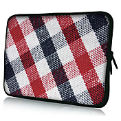 Plaid Pattern Neoprene Laptop Sleeve Case for 10-15