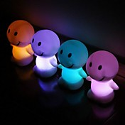 LED Doll Favors (Set of 4 in Assorted Colors)
