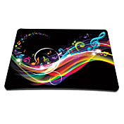 Jumping Note Gaming Optical Mouse Pad (9 x 7 Inches)