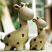 Mother's Love Giraffe Cake Toppers - Set of 2