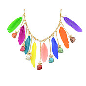 Gorgeous Alloy With Feather Women's Necklace(More Colors)