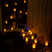 12- LED Candle Light Warm Yellow Candle Wedding or Party Gifts